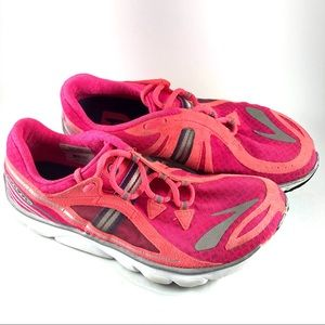 Brooks Pure Drift Pink Running Sneaker Shoes